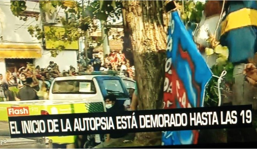 Un médico juninense en la autopsia de Maradona - Semanario de Junín